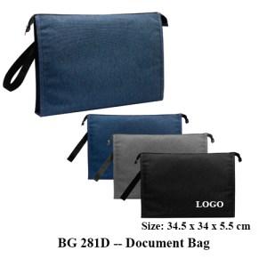 BG 281D Document Bag 1 - BG 281D -- Document Bag