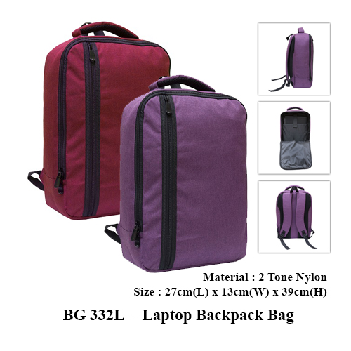 BG 332L — Laptop Backpack Bag
