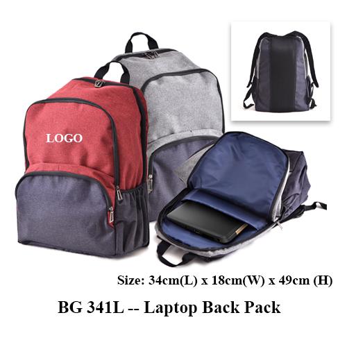 BG 341L — Laptop Back Pack