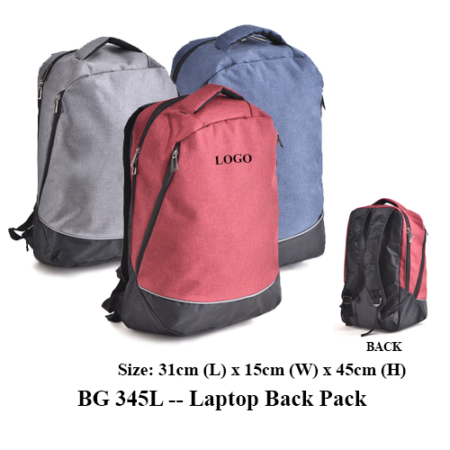 BG 345L — Laptop Back Pack