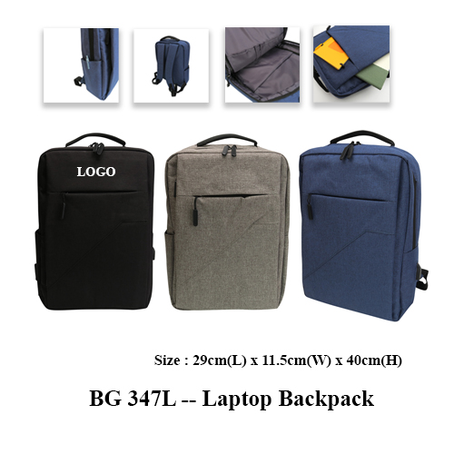 BG 347L — Laptop Backpack