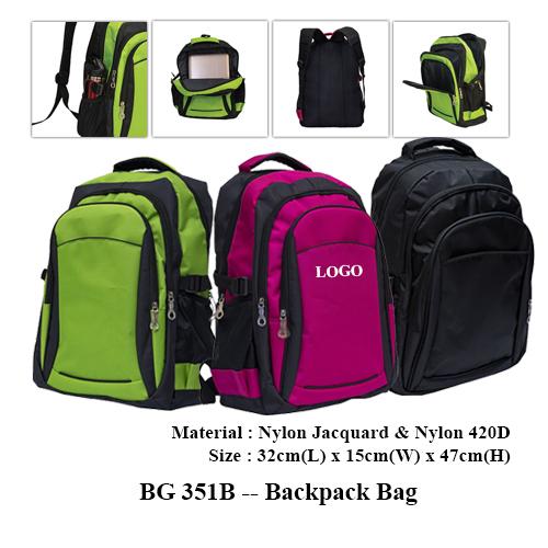 BG 351B — Backpack Bag