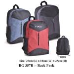 BG 357B -- Back Pack