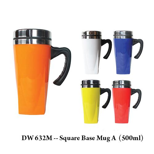 DW 632M — Square Base Mug A  (500ml)