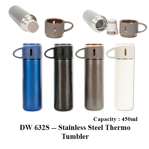 DW 632S — Stainless Steel Thermo Tumbler