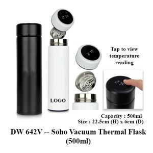 DW 642V Soho Vacuum Thermal Flask 500ml 1 - DW 642V -- Soho Vacuum Thermal Flask (500ml)