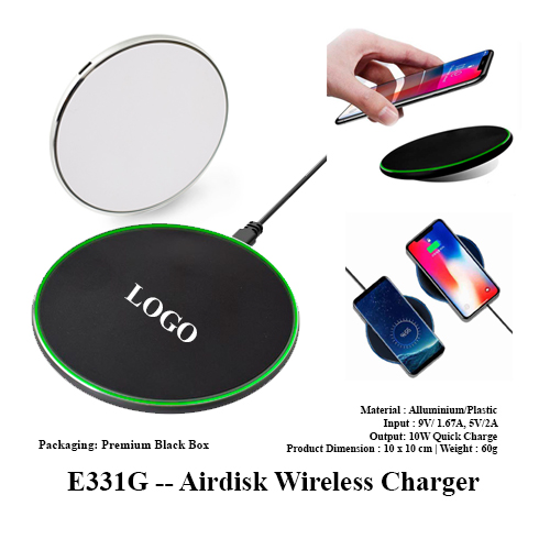 E331G — Airdisk Wireless Charger