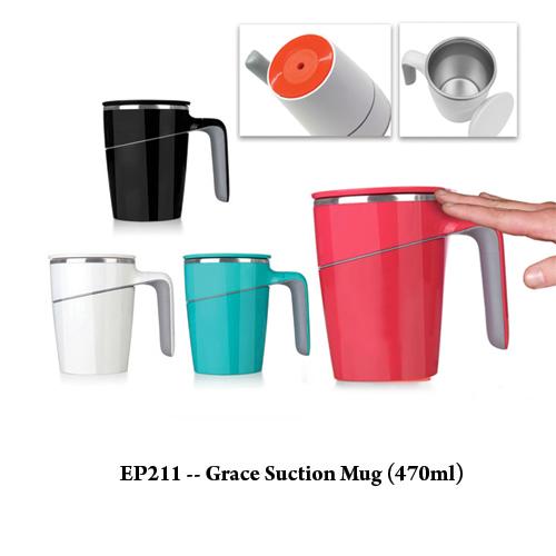 EP211 — Grace Suction Mug (470ml)
