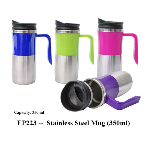 EP223 — Stainless Steel Mug (350ml)