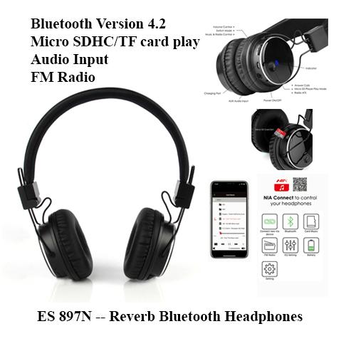 ES 897N — Reverb Bluetooth Headphones