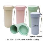 ET 128 -- Wheat Fiber Tumbler (420ml)