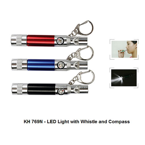 KH 769N – LED Light with Whistle and Compass