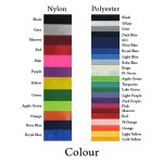 Material Colour for Nylon and Polyester - Lanyard Customized Design 5