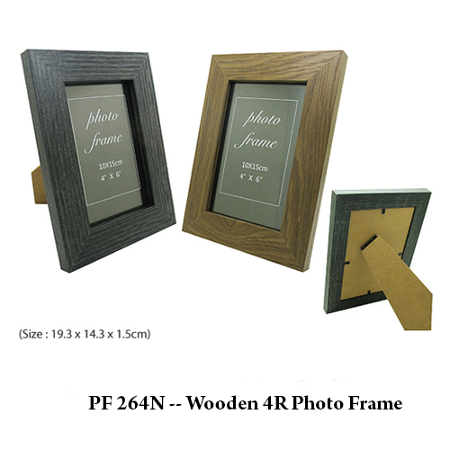 PF 264N — Wooden 4R Photo Frame