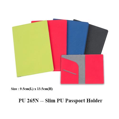 PU 265N — Slim PU Passport Holder