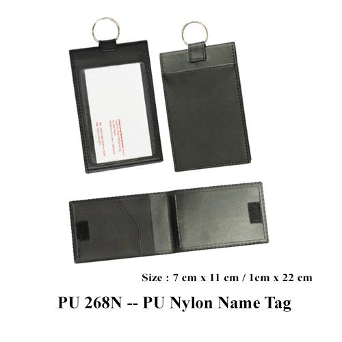 PU 268N — PU Nylon Name Tag