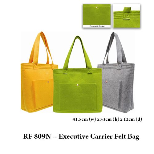 RF 809N — Executive Carrier Felt Bag