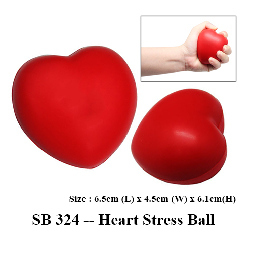 SB 324 — Heart Stress Ball