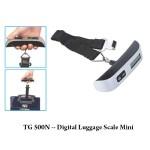 TG 500N Digital Luggage Scale Mini - TG 501N -- Digital Luggage Scale