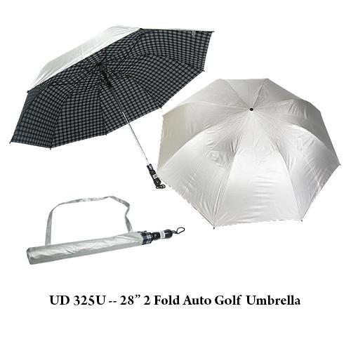 "UD 325U — 28"" 2 Fold Auto Golf  Umbrella"