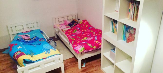 """Zamiana łóżeczka na """"dorosłe"""" łóżko"""