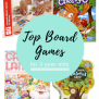 Top Board Games For Three Year Olds Twin Mom And More
