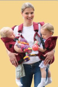 TwinTrexx Baby Carrier | Twin Nanny Vee