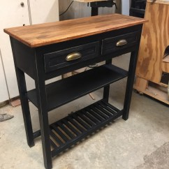 Kitchen Coffee Cart Island Target  Twin Orchards Woodworking