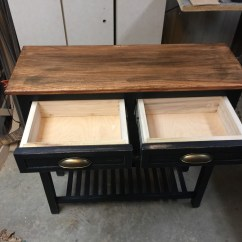 Kitchen Coffee Cart Sink Cabinet Size  Twin Orchards Woodworking