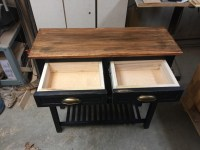 Kitchen Coffee Cart  Twin Orchards Woodworking