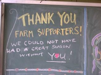 Thank you CSA members