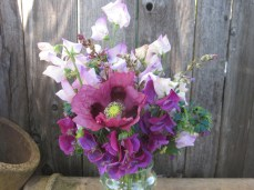 Spring Bouquets with the first O poppy