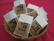 Sunflower seed packets