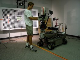 Matt Nelson, prepping camera