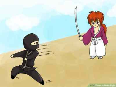ninja-battle-run-away