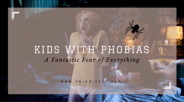 kids with phobias title