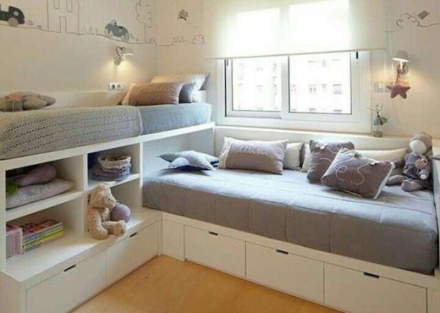 overlap corner beds