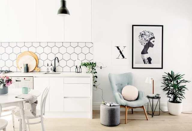 hexagon-tile-kitchen