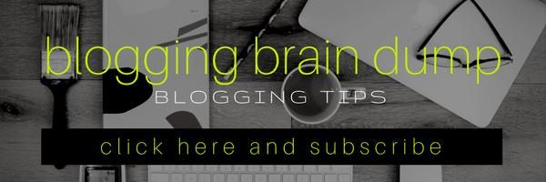 blogging tips mail chimp