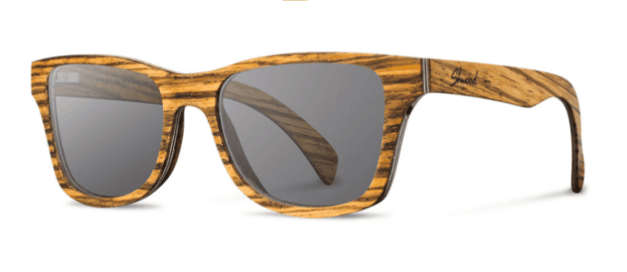 canby wooden sunglasses