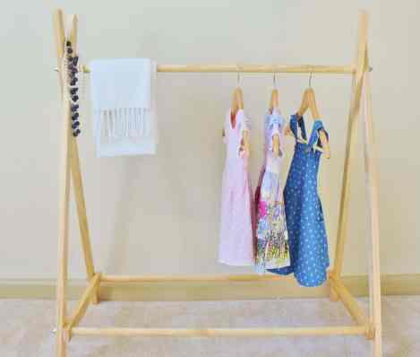 Kids Clothes Rack - Etsy