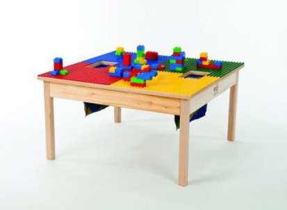 Lego play table with storage (Etsy)