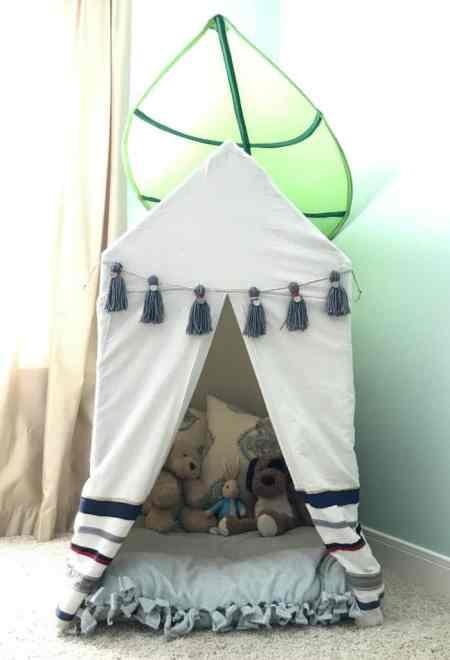 DIY Kids Decor Tent PVC Pipe