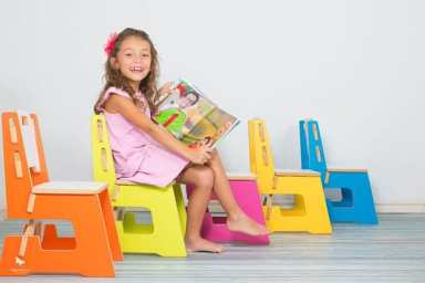 kids chair wooden