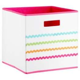 Multi Colored Storage Bin