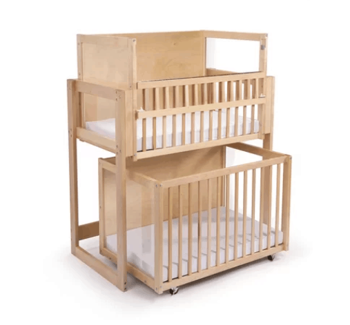 double crib for twins