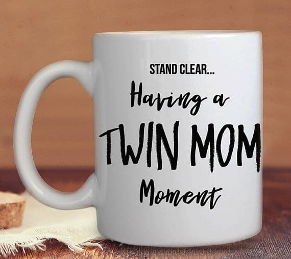 Twin Mom Moment Mug