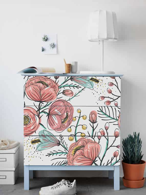 Flower MALM decals