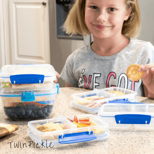 How to make healthy back to school lunches easy for snacks