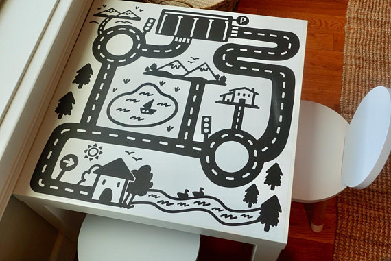 Road LACK decal